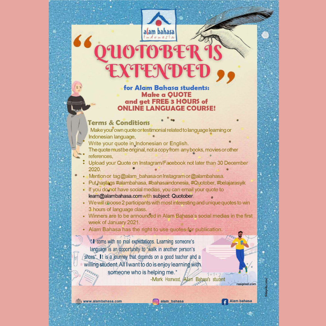 QUOTOBER IS EXTENDED