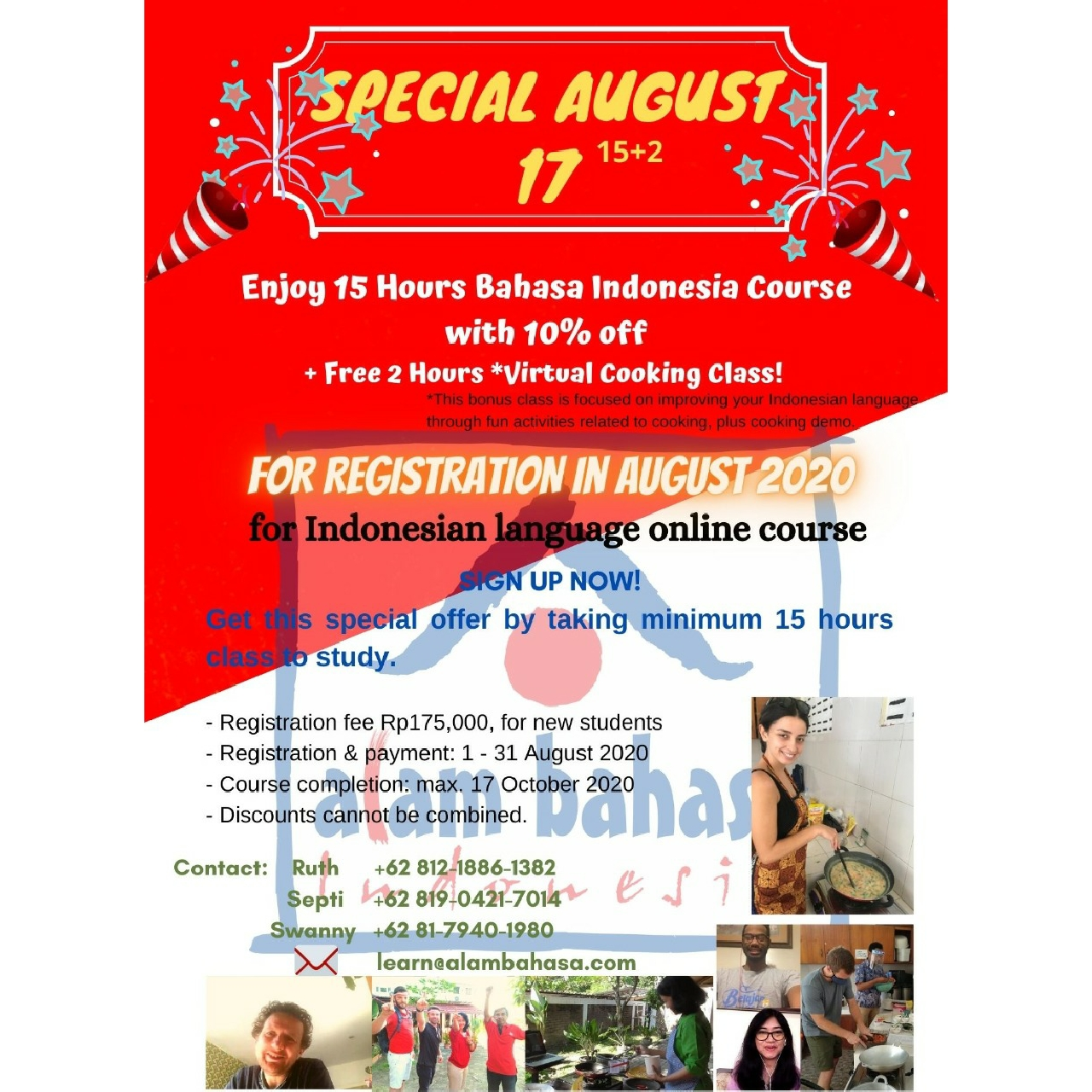 SPECIAL AUGUST 17