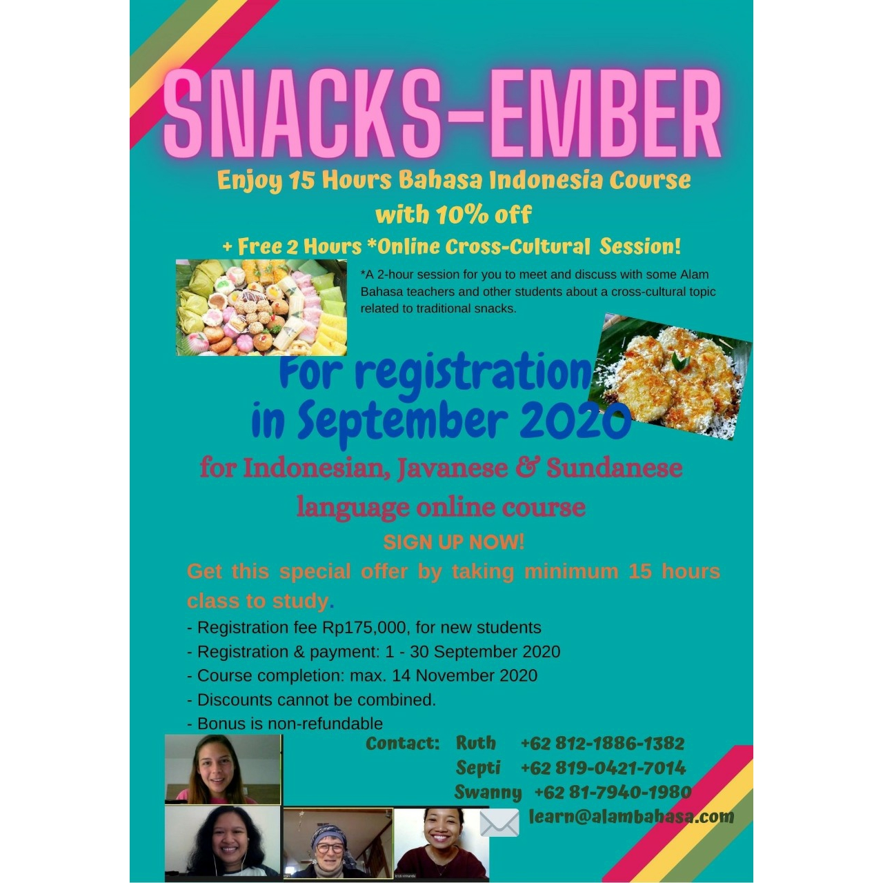 Snacks-ember -- September Promo