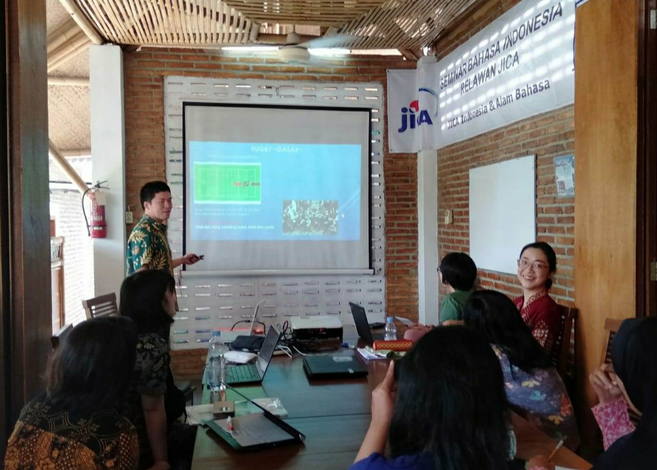 Presentation in Indonesian Language by JOCV
